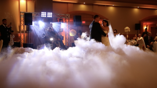 Ottawa Dry Ice Dancing on the cloud Service For Wedding And special effects