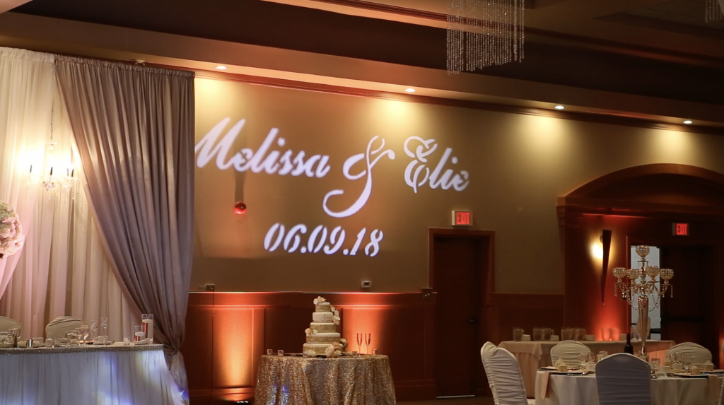 Custom Monogram GOBO Ottawa Gatineau Special Events